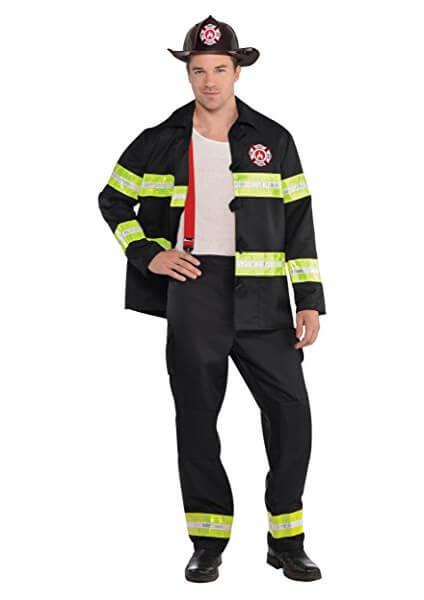 Déguisement sexy de pompièr pour homme