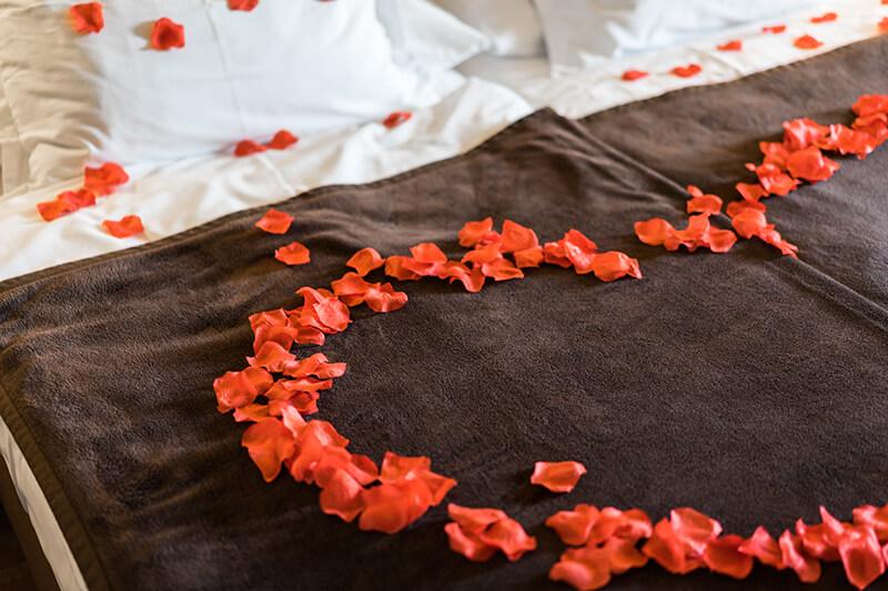 Soirée de Saint Valentin romantique